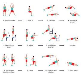 afvallen workout